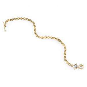 Diamond Rolo Bracelet